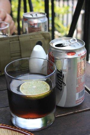 Rex Hotel: VN coke light with lemon
