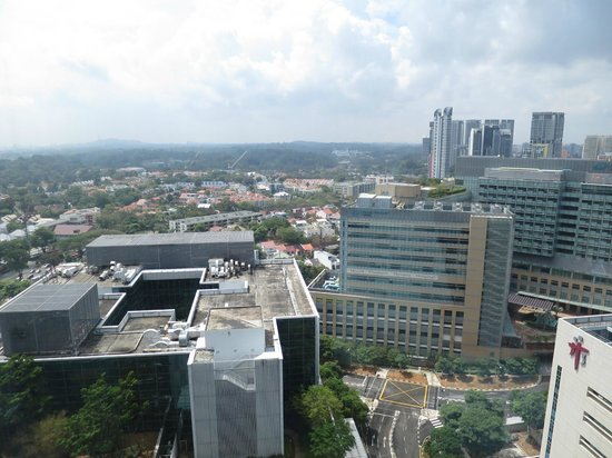 Oasia Hotel Novena, Singapore by Far East Hospitality: Awesome view of the city