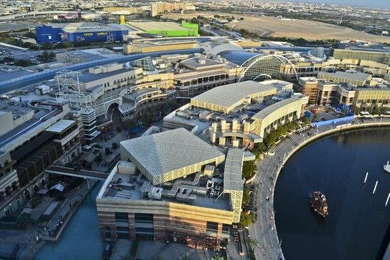 InterContinental Dubai Festival City: the view from my room