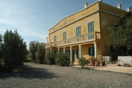 Villa Juba: l'allée principale