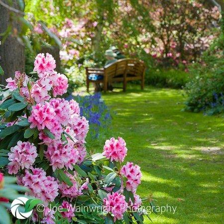 Market Drayton, UK: Dorothy Clive Garden bench