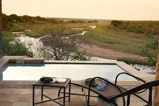 Komatipoort, South Africa: View from one of the Pools