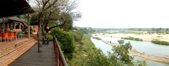 Ngwenya Lodge: View from Le Fera Restaurant