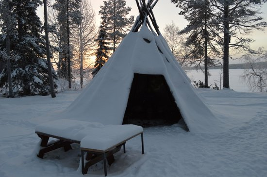 Hotel Jeris: Tepee in the hotel grounds