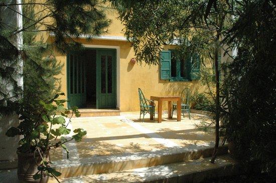 Villa Juba: toutes les chambres disposent de terrasse privative