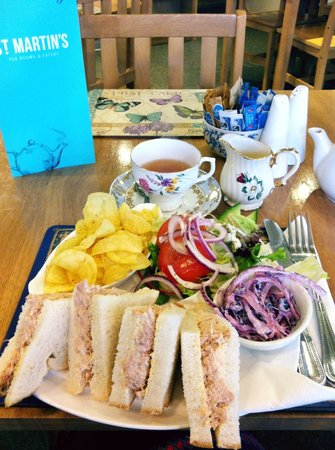 St Martins Tea Room & Grill: Fantastic food and service