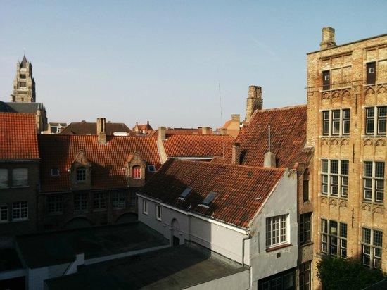 Hotel 't Voermanshuys: Bruges Roof Tops