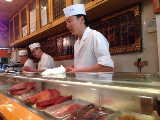Sushidai: Sushi chefs