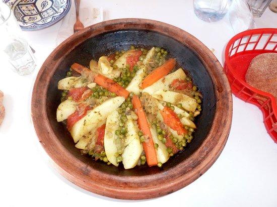Chez Hosni : veau aux petits légumes
