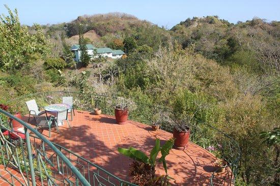 Top O' Tobago Villa & Cabanas: One of the terraces