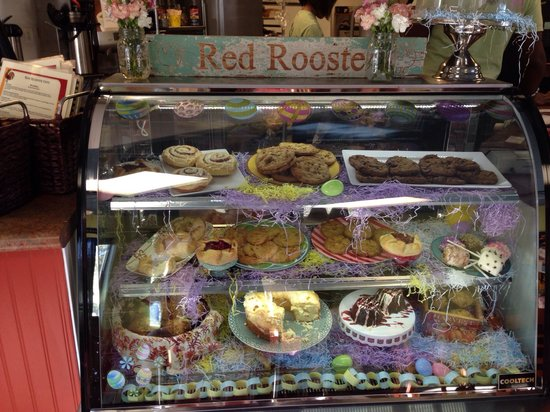 Red Rooster Cafe: Yummy desserts