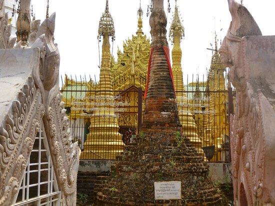 Kakku Pagodas : Maybe the oldest stupa in Kakku
