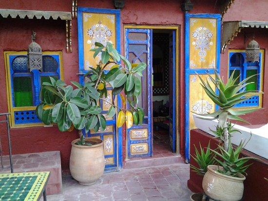 Ryad Bahia : Entrée de la Chambre Aladdin