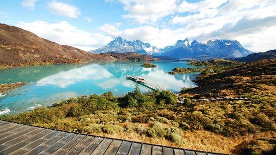 Explora Patagonia`s catamaran