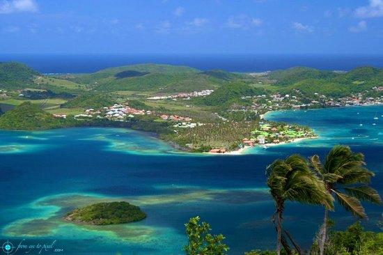 Club Med Les Boucaniers : Vue du panorama en face