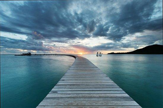 Club Med Les Boucaniers : Le ponton