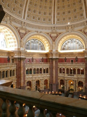 Library of Congress: Library of Congres view of reading room