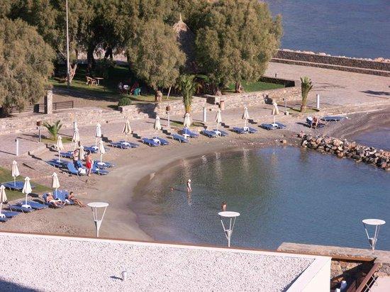 Mirabello Beach & Village Hotel : Room View Beach view