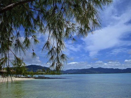 Preskil Beach Resort: Le paysage