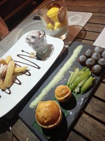 Cuisine Wat Damnak : Lovely desserts