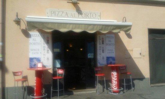 Pizza al porto