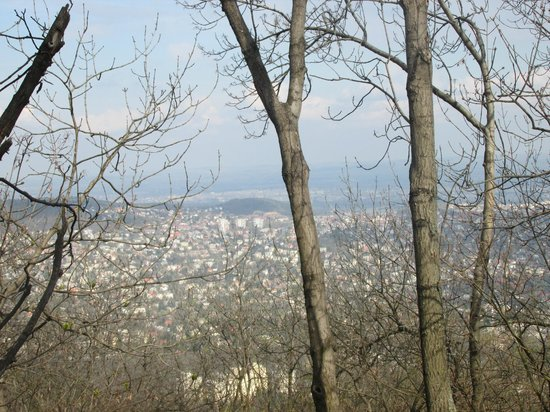 Janoshegy: View from Janos hill