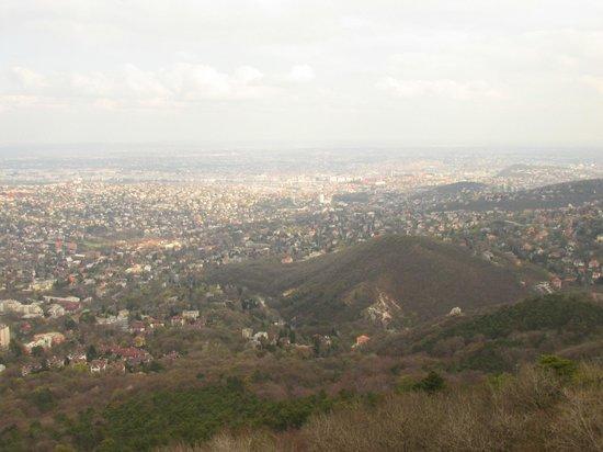 Janoshegy : view from Elizabeth lookout