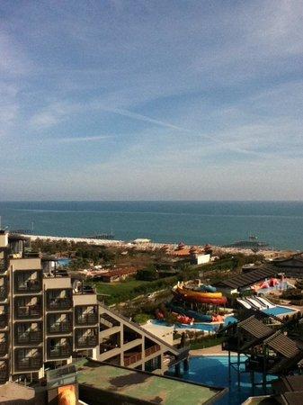 Limak Lara De Luxe Hotel&Resort : View from standard room��-April 2013