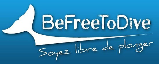 Be Free To Dive : Logo BeFreeToDive