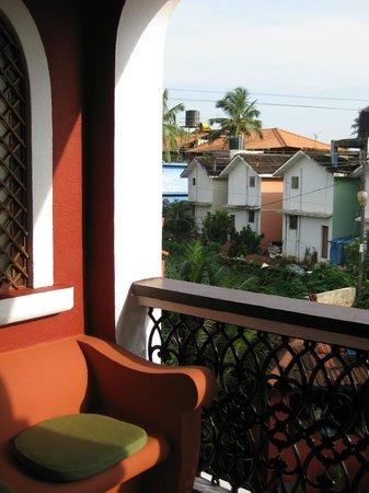 Kingstork Beach Resort : Blick vom Balkon