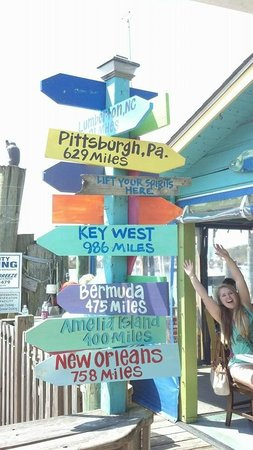 Fishy Fishy Cafe: Fishy Directions
