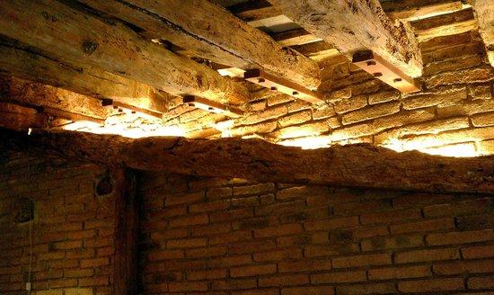 La Casa de l'Argent : Ancient beams