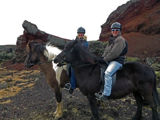 Islenski Hesturinn, The Icelandic Horse - Riding Tours : On our ride --- A wonderful day!
