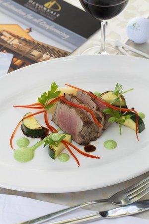 Devonvale Golf & Wine Estate: Food