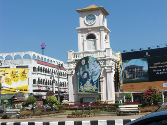 Metropole Hotel Phuket : Clock Tower