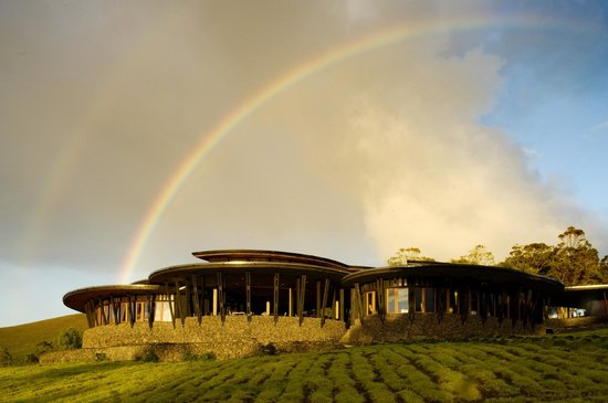 Outside view of Explora Rapa Nui