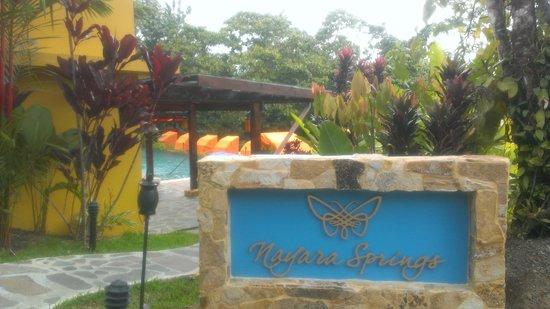 Nayara Springs : Entrance to pool