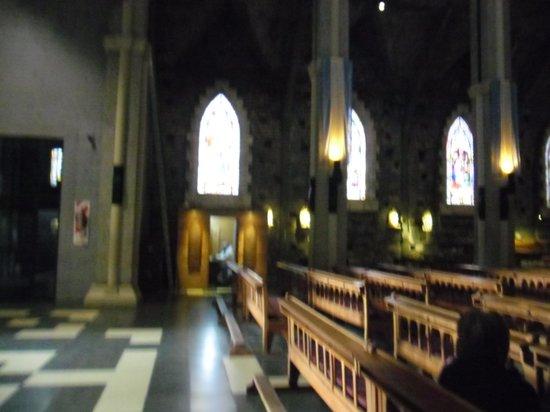 Church of Our Lady of Nahuel Huapi: La catedral por dentro