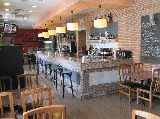 Góngora Restaurante: BARRA