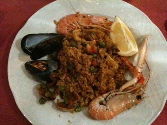 Restaurant Koxkera: Paella marinera