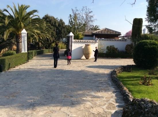 La Bobadilla, a Royal Hideaway Hotel : courtyard