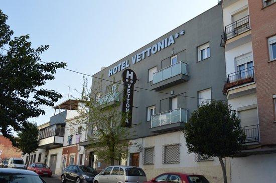 Hotel Vettonia: Vista exterior hotel.