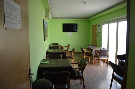Hotel Vettonia: Salon social, y para desayuno.