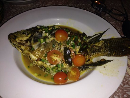 Joys Restaurant : Curried Steamed fish