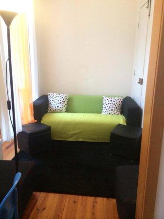 Lisbon Happy Hostel: Lounge