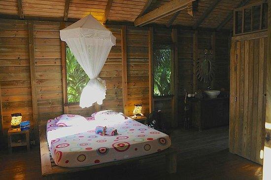 Au Jardin des Colibris: La chambre