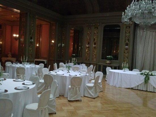 Grand Hotel et Des Palmes : sala banchetti