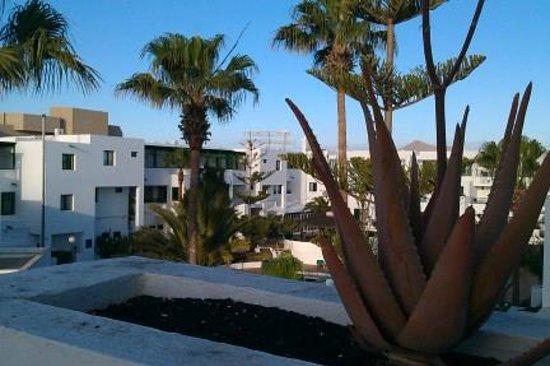Apartamentos Galeon Playa : View from balcony