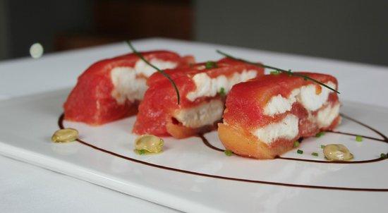 Infinit Restaurant: prensado de sardinas