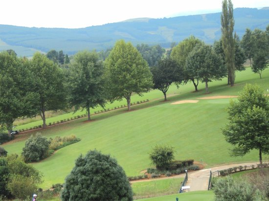 Champagne Sports Resort: looking across golf course
